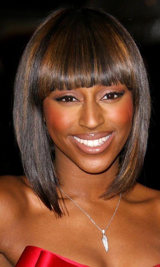 Alexandra Burke's Sleek Bob Hairstyle, 2010