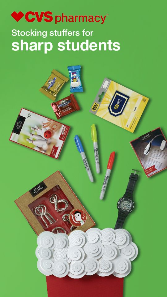 Trying to find brilliant gifts for geniuses who stay after school to speak with teachers and organize notes? Supporting them with the little things they need isn't rocket science. Just levitate (or drive) to your CVS Pharmacy® today. Find more ideas, inspiration and savings at CVS.com/Holiday.