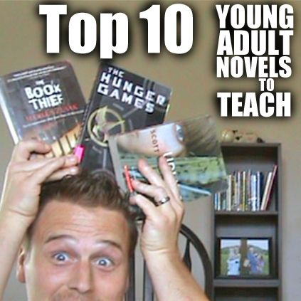 Top Ten Young Adult Novels to Teach (Episode 41) . Teachers are always looking for good novels to teach. We've made it easy for you. Here's our Top 10 plus 4 honorable mentions. Download free class library permission slip in the video.