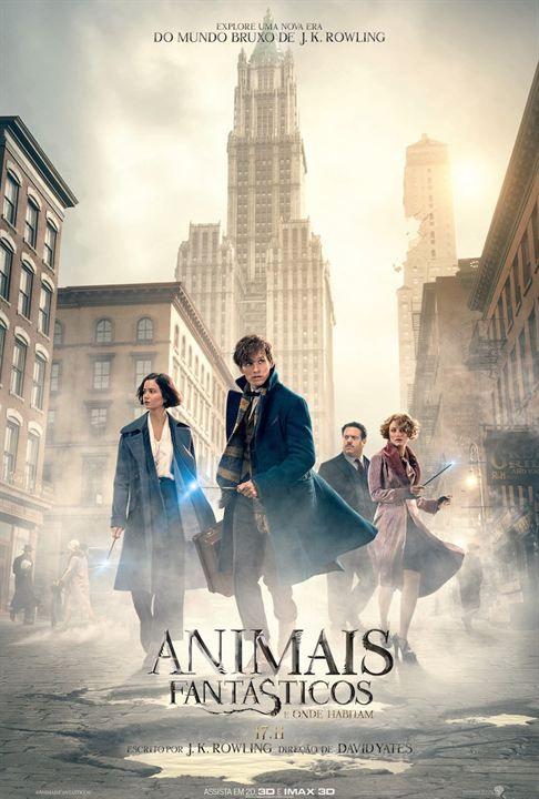 Animais Fantásticos e Onde Habitam : Poster - Espero que seja tudo aquilo que nós sempre sonhamos :)