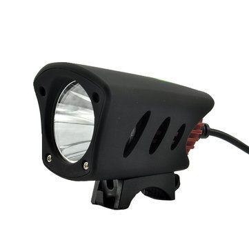 XANES Dual Interface T6 LED IPX65 Waterproof Bike Light HeadLamp 800 Lumens Cycling Light Sale - Banggood.com