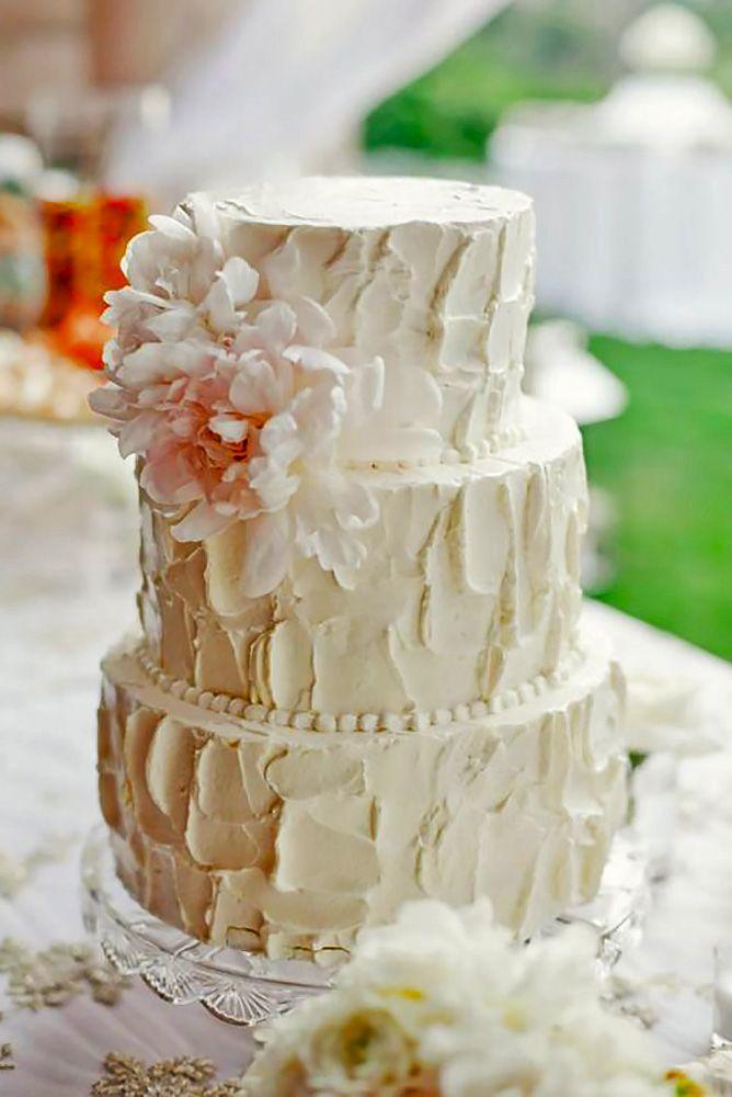 Gorgeous Textured Wedding Cakes