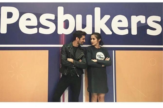 Jessica Iskandar and Vishal Singh / saath nibhana saathiya