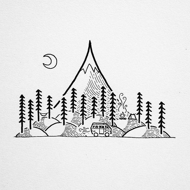 Keep it simple. #staywild artwork by @david_rollyn by staywildmagazine