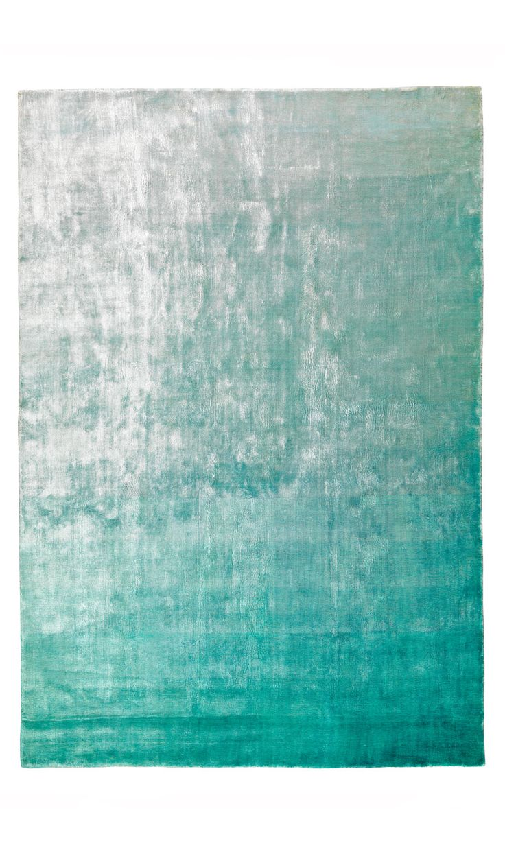 Designers Guild Eberson Rug Aqua at Heal's The perfect contrast to the pale pink and worn white decor.