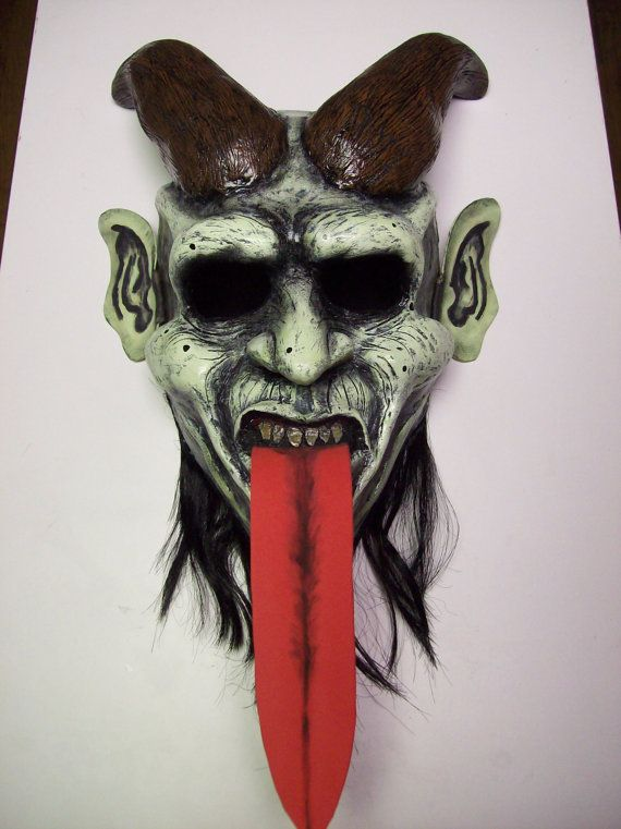 Krampus mask https://www.etsy.com/listing/189104292/krampus-mask