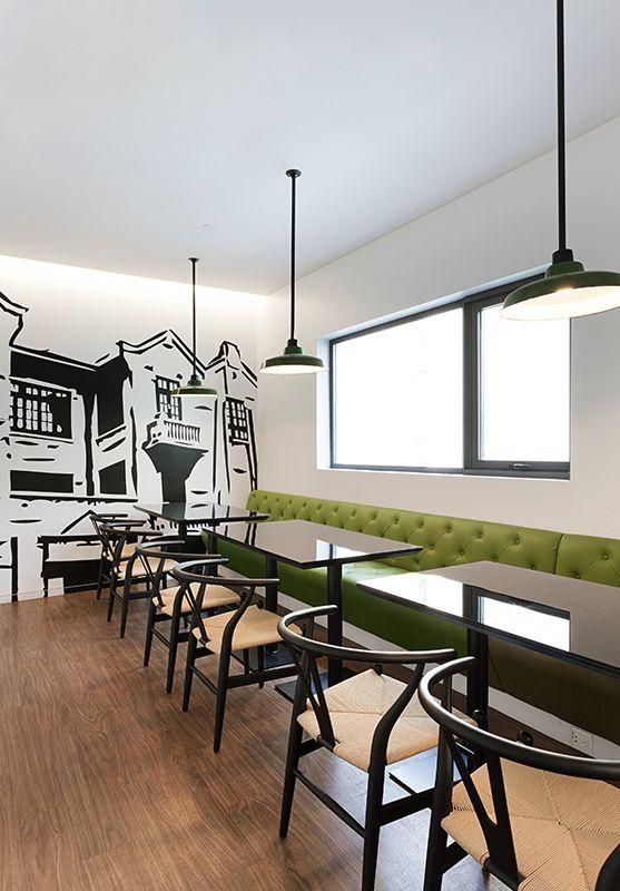 nice idea for seating - PORTFOLIO - Robarts Interiors and Architecture - Shanghai - Robarts Interiors and Architecture