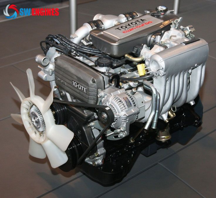 1985 Toyota 1G GTEU Type engine front #SWEngines | Toyota Engines