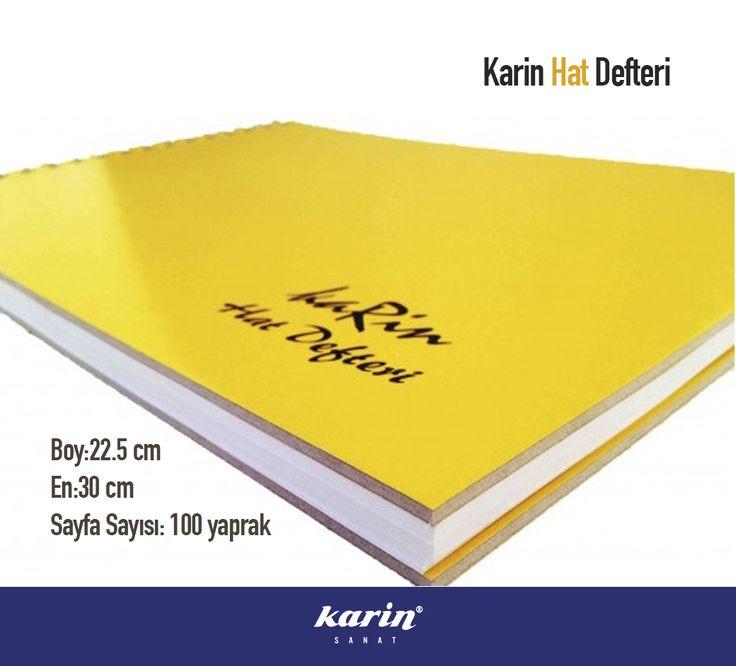 Karin Hat Defteri  #karinsanat #hatdefteri #hat #art #book #artbook #artmaterial
