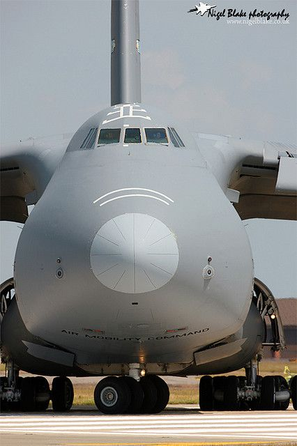 C-5 Galaxy you have no idea how BIG this is unless you stood next to it. --been there done that!   My favorite giant!