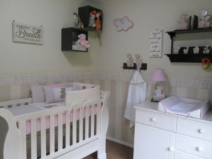 Jungle nursery decor for girls