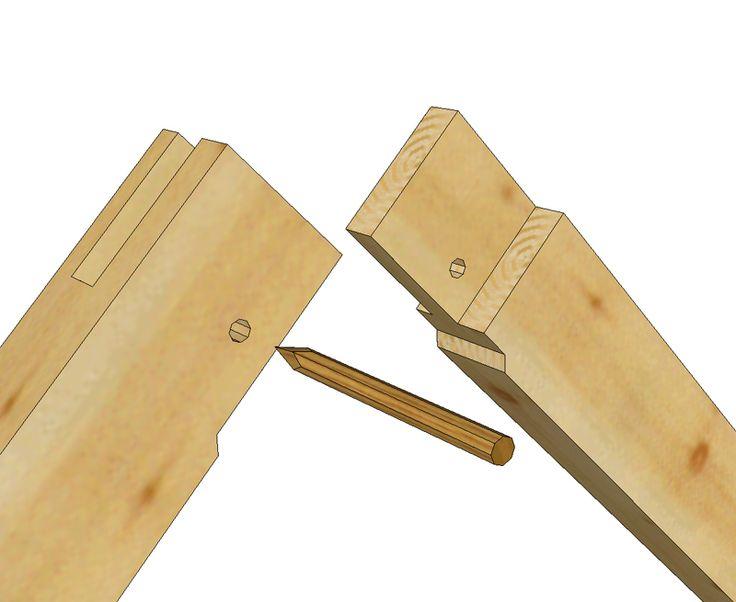 85 best Timber Frame Joints images on Pinterest | Carpentry ...