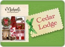 Cedar Lodge ChristmasCrafts Ideas, Cedar Lodges, Christmas Decor, Lodges Christmas