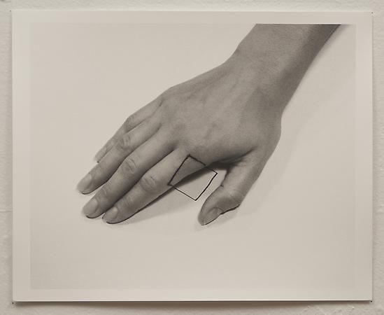 Liliana Porter, The Square II, 1973