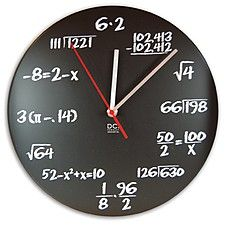 Reloj de Pared Geek, 'Pop Quiz Clock'