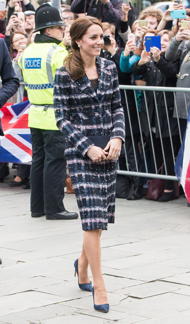 Kate Middleton Makes Waves in the Ladylike Statement Coat