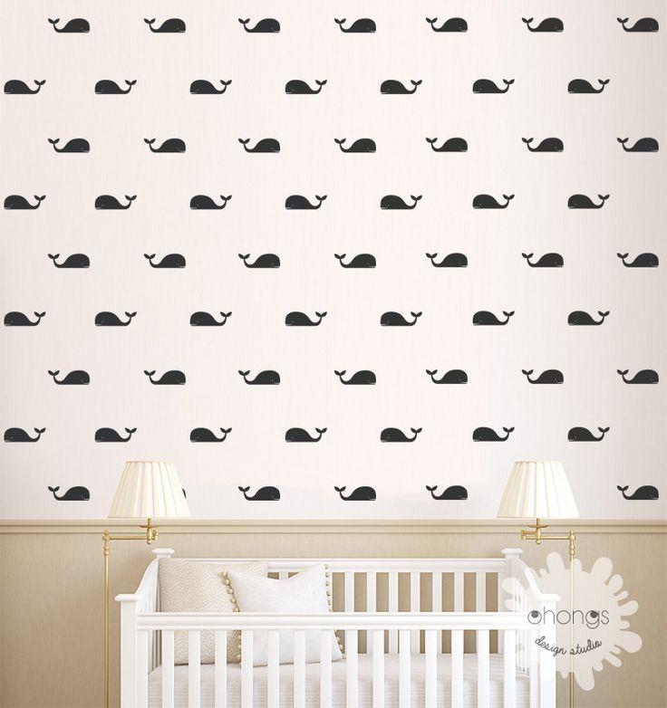 Duvar Stickerı - Balinalar #duvarsticker #dekorasyon #dekoratif #çocukodası #wallsticker #sticker #kidsroom #roomdecoration #walldecoration #duvardekorasyonu