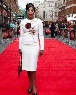 Mo Abudu rocks Dolce and Gabbana piece to movie premiere