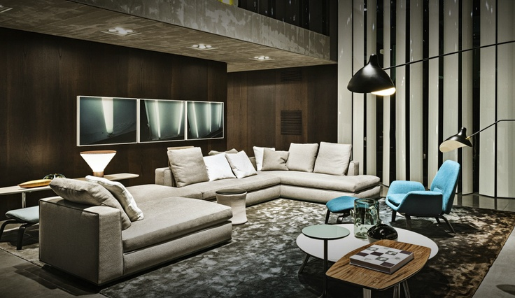 "minotti is so classy | ""However, the INTERIOR DECORATING"
