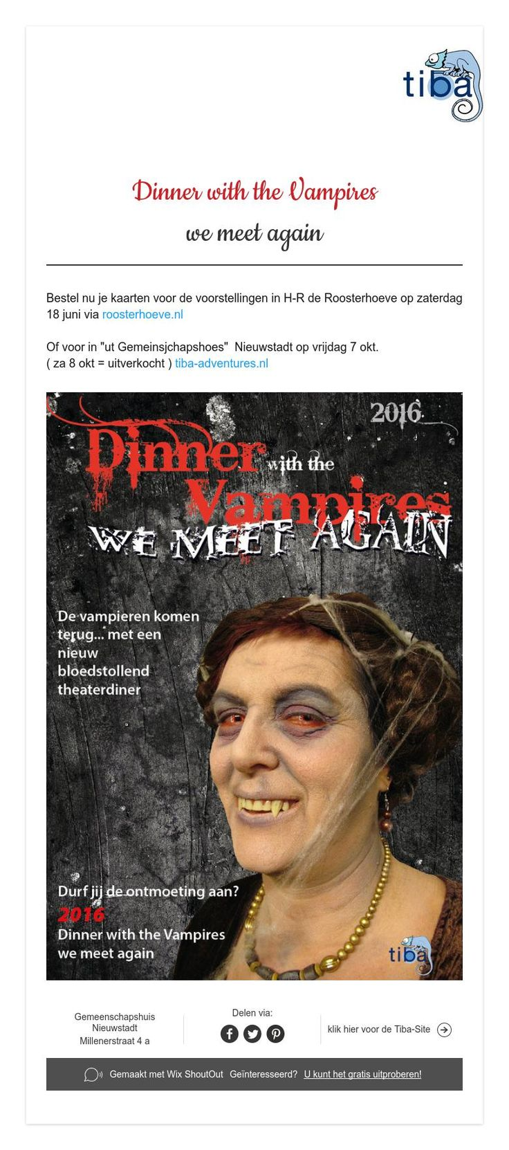 Dinner with the Vampires  we meet again