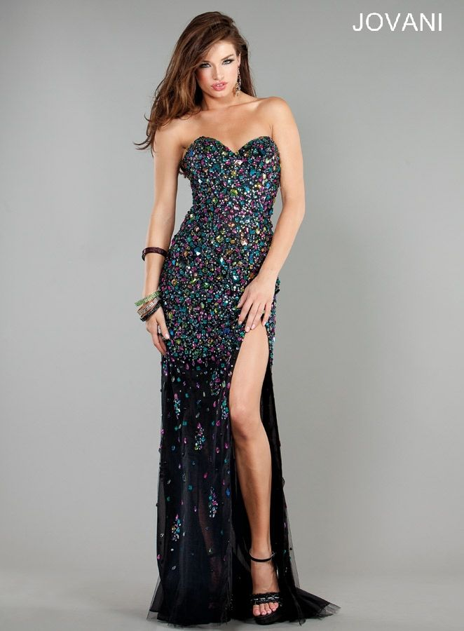 17 Best images about Jovani on Pinterest   Strapless dress, Gowns ...
