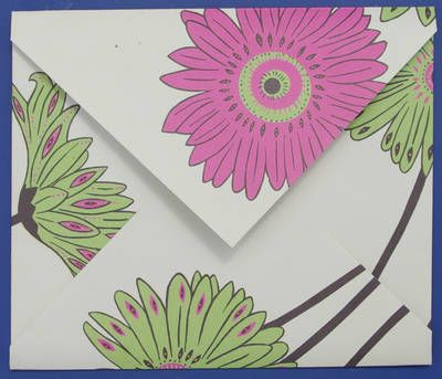 Tutorial - How to make an easy folded paper envelope - Kate Pullen