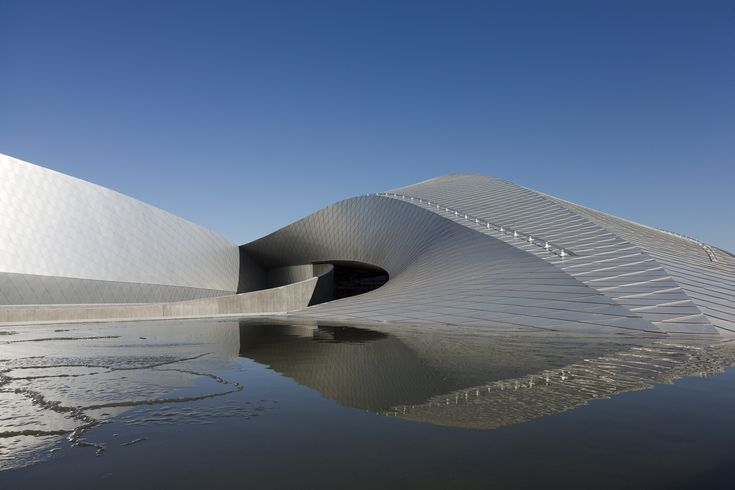 The Blue Planet, aluminum exterior calculated to have minimal waste | 3XN