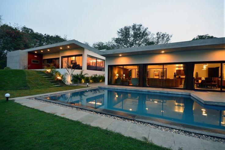 Gallery Of Aranya House  Modo Designs  Home Exterior Design - Exterior house design one floor
