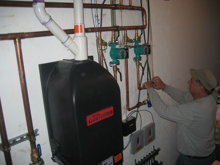 Dunkirk High efficient condensing boiler