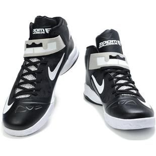 black and white lebron 10
