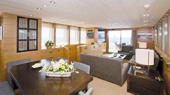 Benetti Expedition Yacht Salon