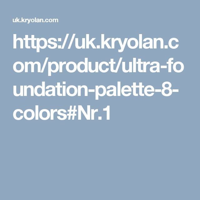 https://uk.kryolan.com/product/ultra-foundation-palette-8-colors#Nr.1
