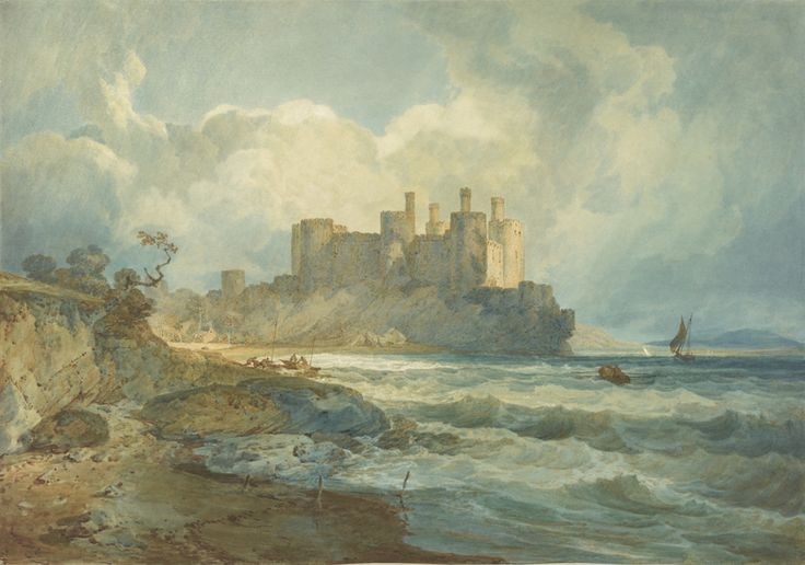 Conway Castle, North Wales, 1798 JMW Turner
