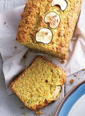 Zucchini Cornbread Recipe  at Epicurious.com