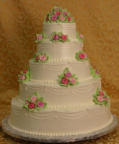 Little pink roses! (Konditor Meister Elegant Wedding Cakes)