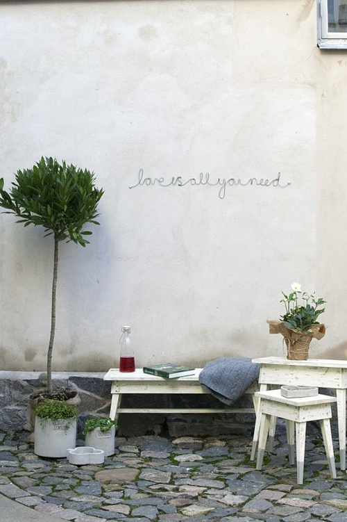 love is all you need-outside wall