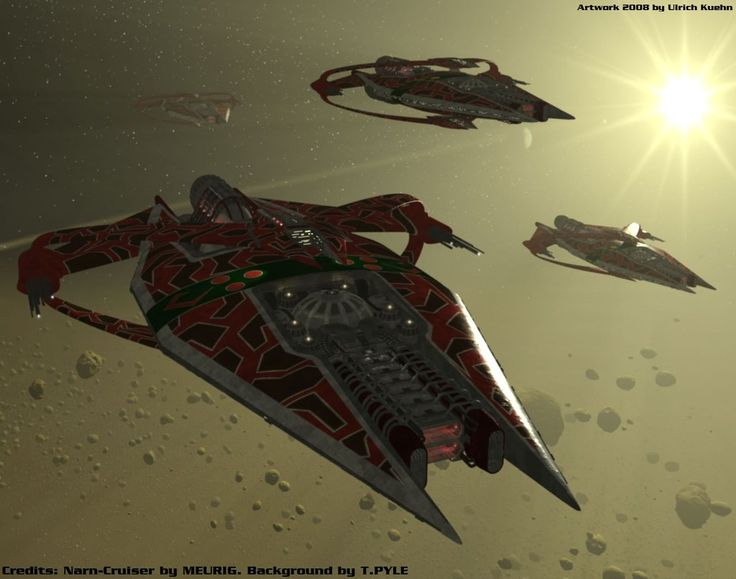 BABYLON 5 - Narn-Raid by ulimann644.deviantart.com on @DeviantArt