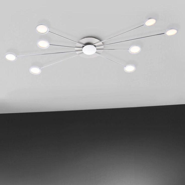 Paul Neuhaus Adela LED Deckenleuchte 8-flammig