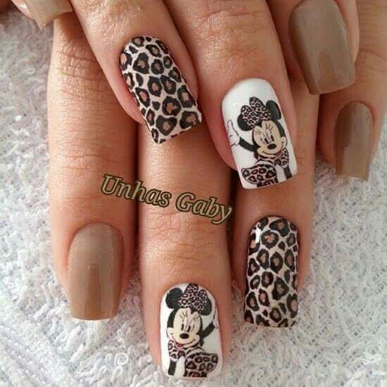 Minnie & Animal Print