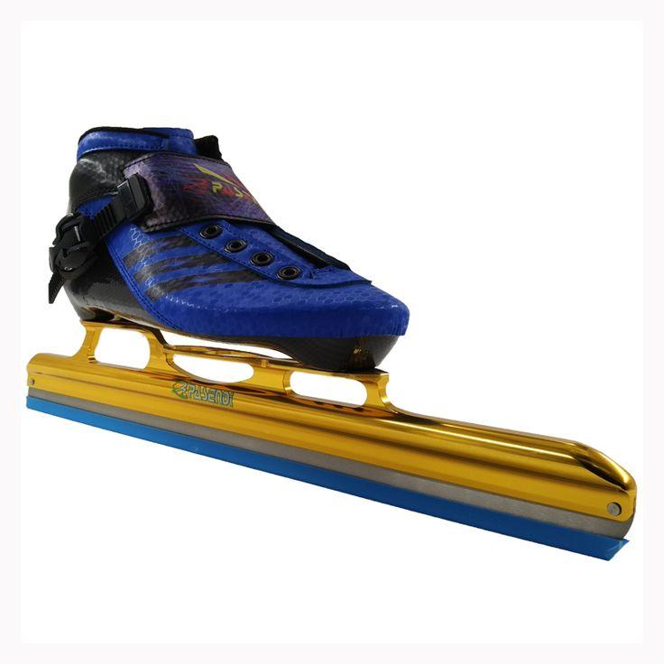 Professional PASENDI Adults Speed Skating Shoes Roller Skates Women/Men ICE  hockey skates NEW Style  kid ICE Blade inline skate #Affiliate