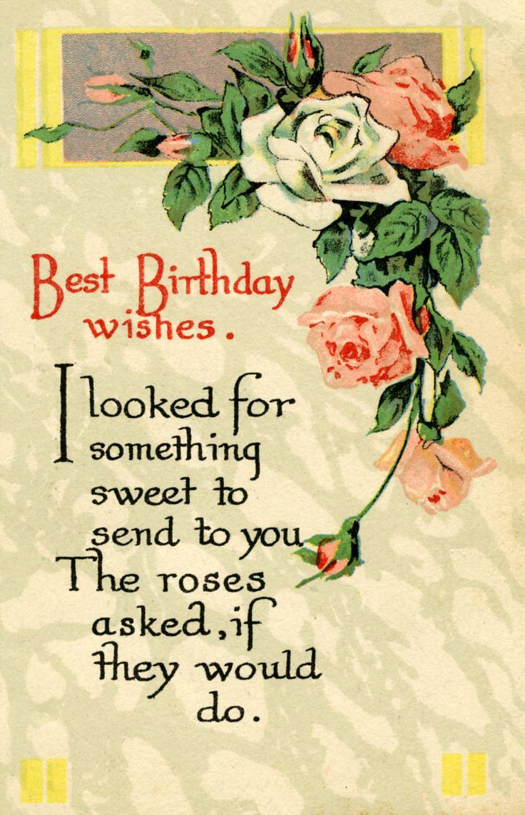 76 Best Birthday Greetings Images On Pinterest Birthdays Happy