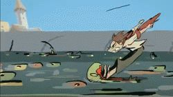 "CATSUKA - ""Kairos"" animated trailer by La Cachette studio..."