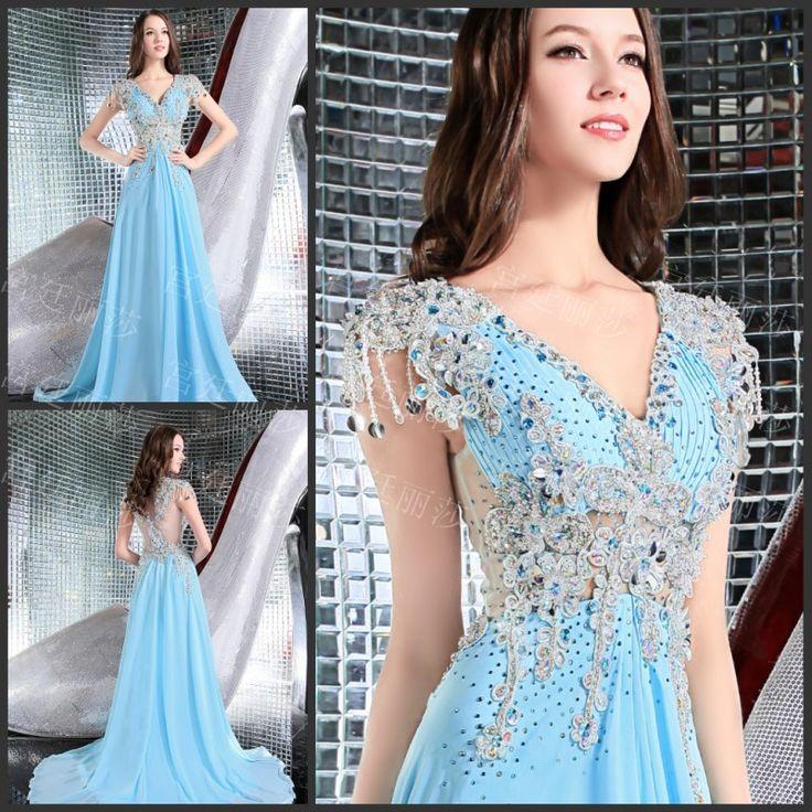 A line evening dresses for rent | Color dress | Pinterest ...