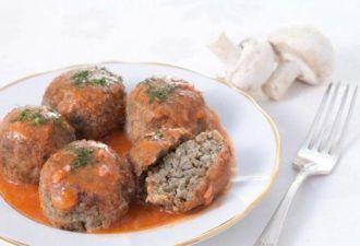 Блюда без мяса гречневые тефтели