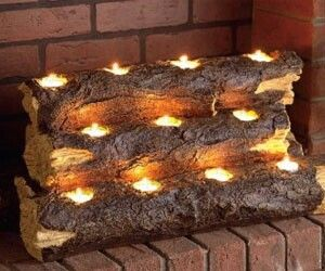 Fire place substitute
