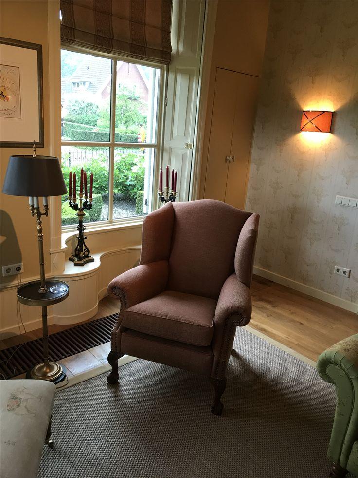 fauteuil Duresta stof Mulberry