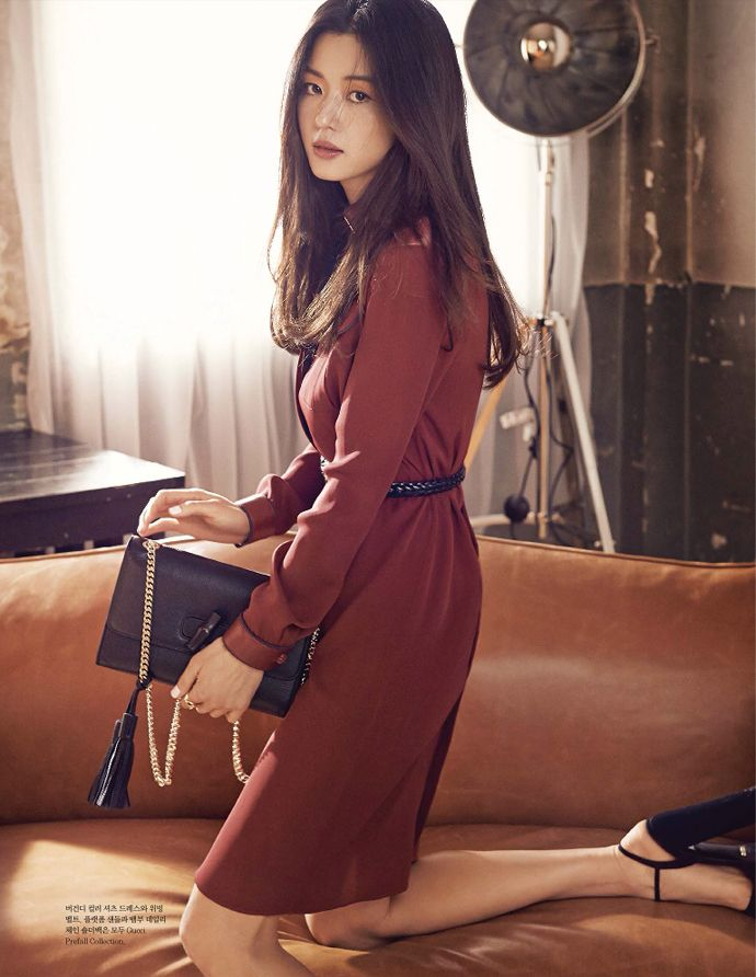 Jeon Ji Hyun for Elle Korea April 2015