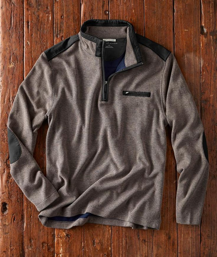 Effortlessly Cool Men's Sweaters TerraTech Pullover