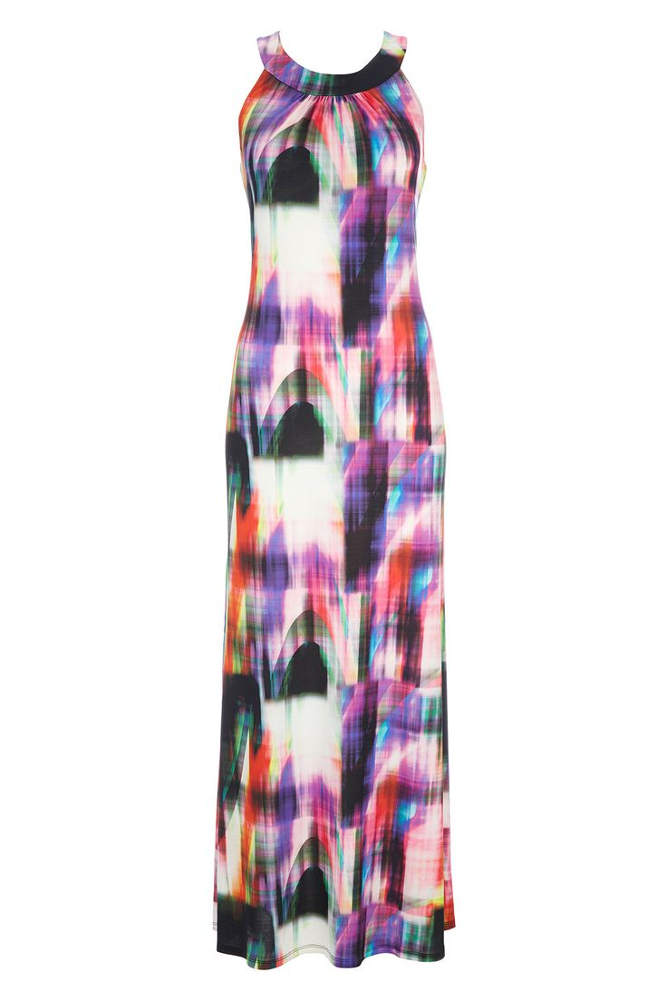 Printed Maxi Dress http://bit.ly/1n7haIx #WallisFashion