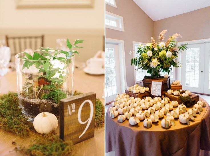 Large Urn On Place Card Table